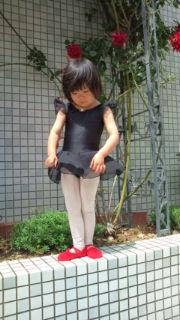 日本製レオタードSakuraさくら黒
