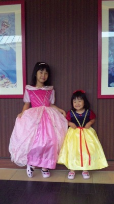 オーロラ&白雪姫