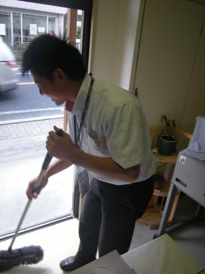 サニクリーンの中村さん