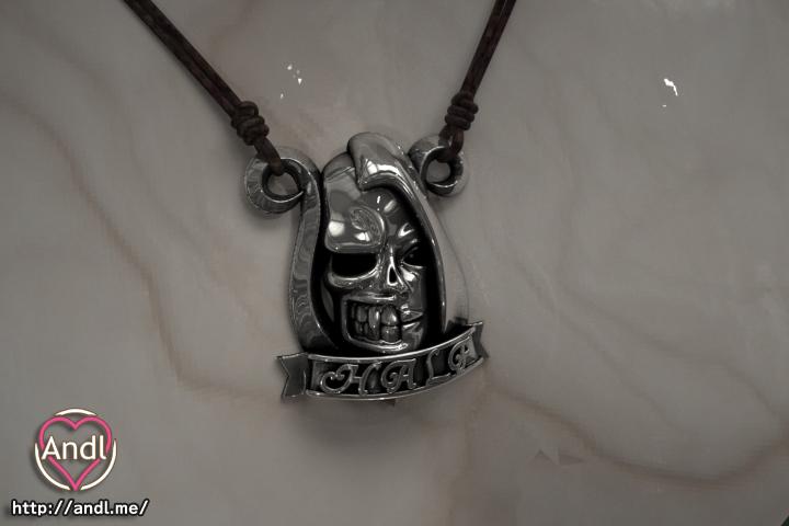 Half Skull シルバーアクセサリー