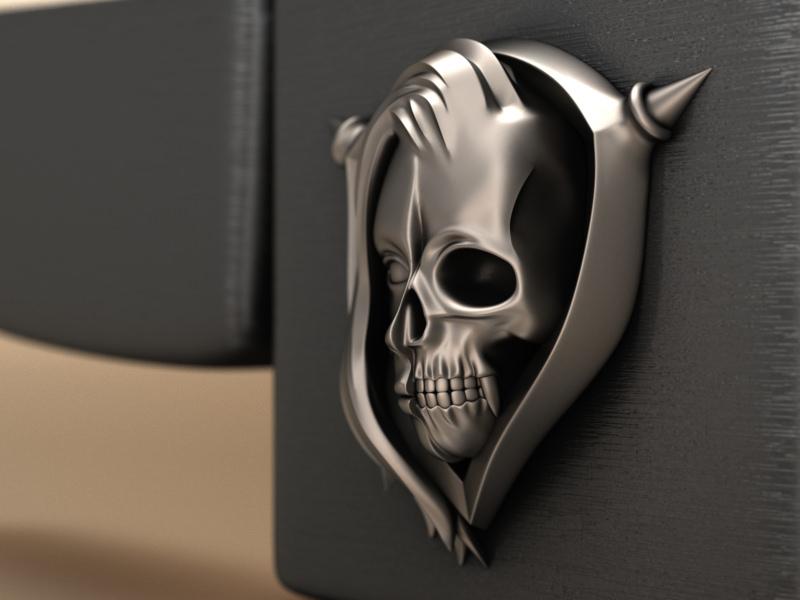 Half skull Ver.2
