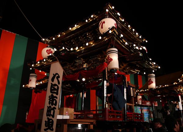 小松のお祭り