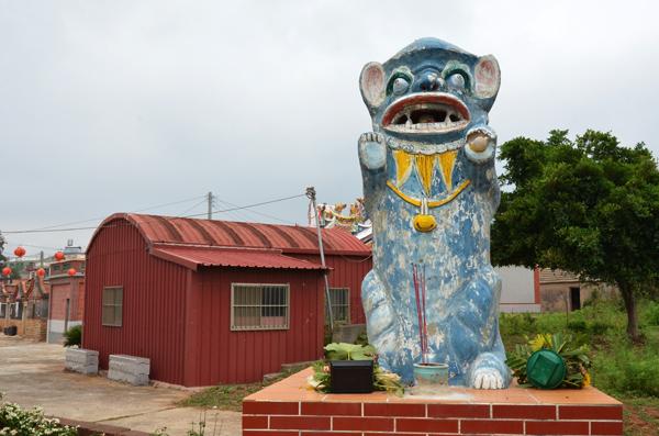 金門島の風獅爺