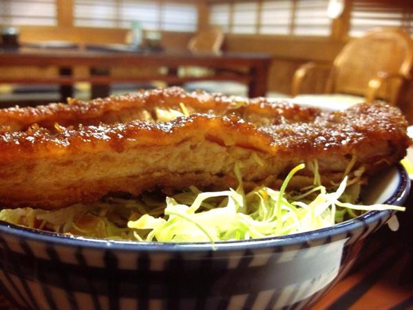 会津若松市 番番 ソースカツ丼