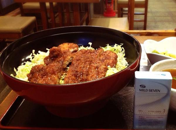 会津若松市 めでたい屋 ソースカツ丼