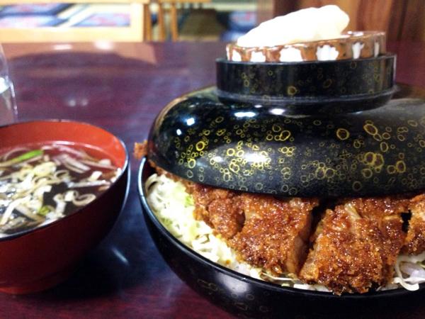 会津若松市 東山温泉 よしのや ソースカツ丼