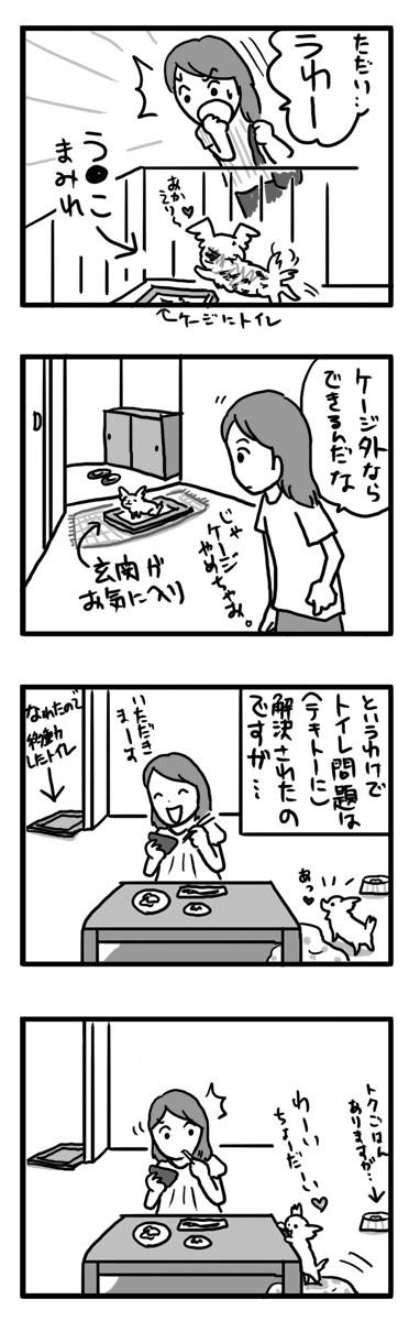 トク マルチーズ スピッツ MIX しつけ 失敗 小犬 漫画 マンガ
