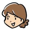 ユカクマ 顔 ひっつめ髪