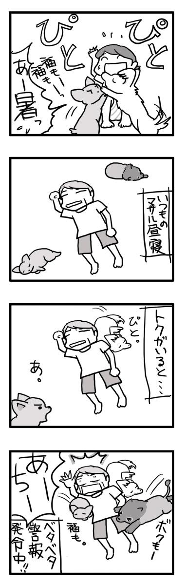 トク 預かり ベタベタ くっつく 犬  マンガ まんが 漫画