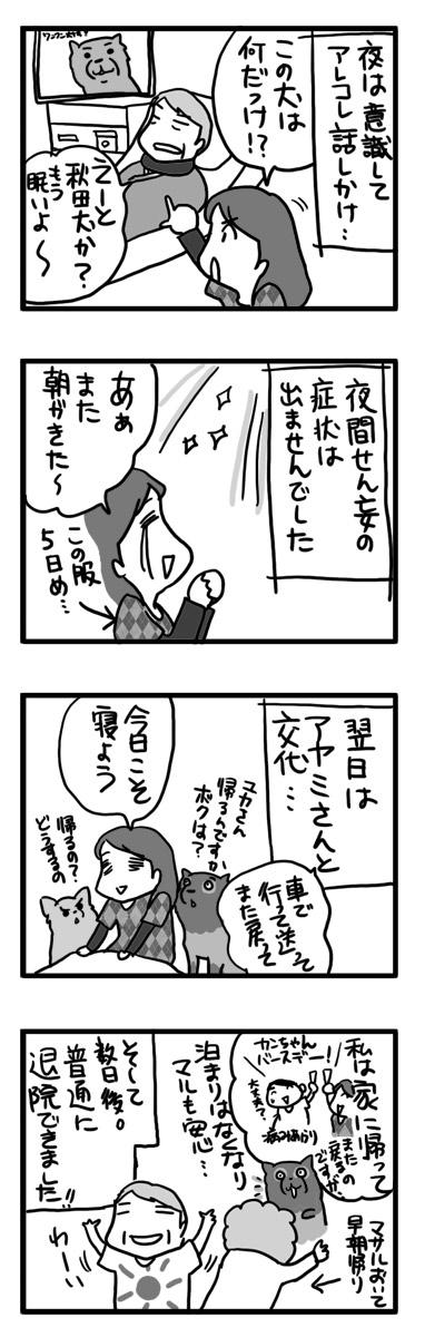 マサル せん妄 せんもう 入院 認知症 老人 犬 まんが マンガ 漫画