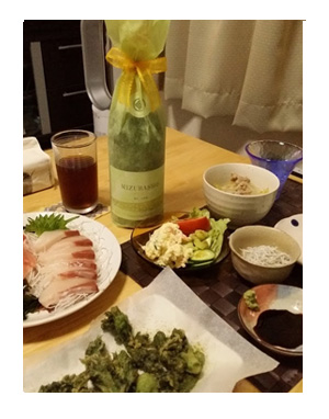 みずばしょう 酒 日本酒 発砲 シャンパン 水芭蕉