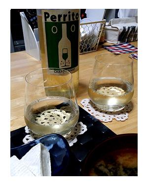 犬 ラベル ワイン ばから バカラ グラス