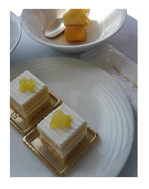 ニュー オータニ ビュッフェ スーパーメロン メロン ケーキ