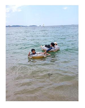 和歌山 旅 海 近畿 扇 海水浴 アドベンチャー