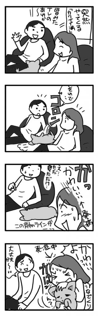 可愛 可愛がり病 犬 チワワ ガウ 吠え まんが 漫画 マンガ