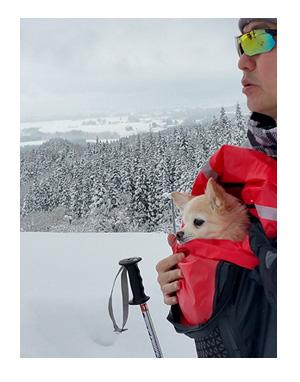 東北 旅行 犬 ペット 宿 雪 スキー まんが 漫画