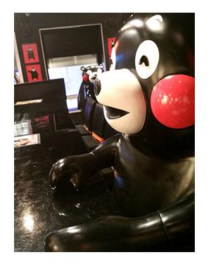 博多 福岡 はかた 中州 チワワ 犬 熊本 クマモン 市電 酒 馬刺 くまバー クマバー BAR