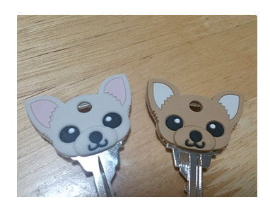 犬 チワワ 鍵 鍵カバー カバー 動物