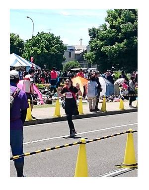 横田 駅伝 基地 ジョギング 5 KM km 梅雨 マラソン