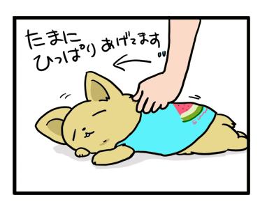 シャツ 犬 シャツ ダラ のび 首