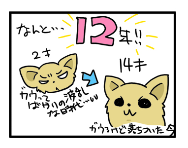 福 ガウリン 12年 アリイス 最終回 吠える 犬 まんが 漫画 マンガ