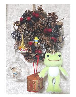 クリスマス リース 増える 飾