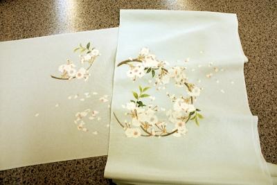 桜の名古屋帯2