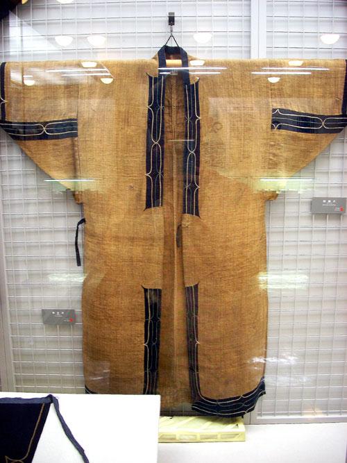 アットゥシ(厚司)織の晴着