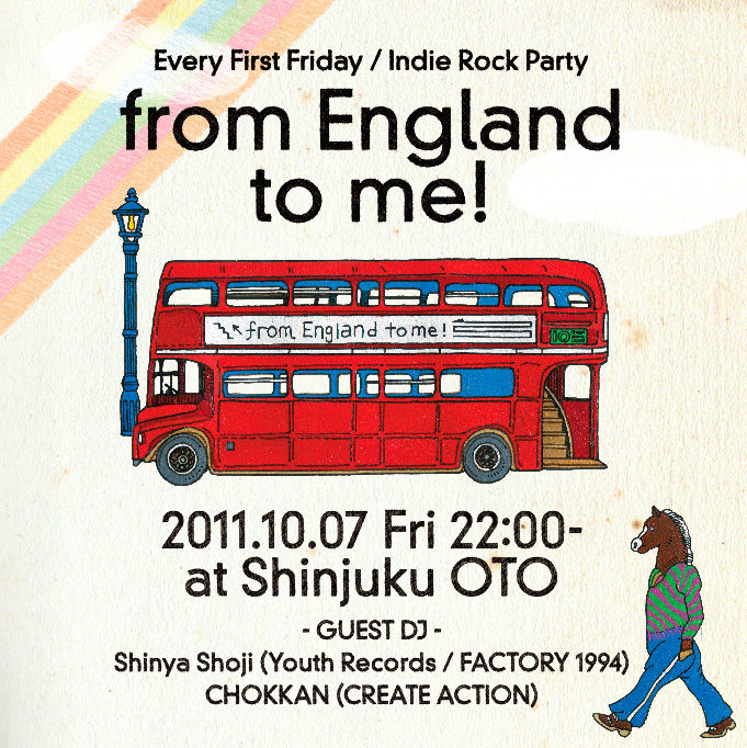 【10/7 Fri -  from England to me!】