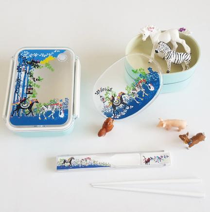 ホラグチカヨ kayohoraguchi イラスト ランチボックス