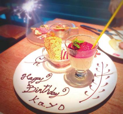 誕生日 ケーキ バースデープレート