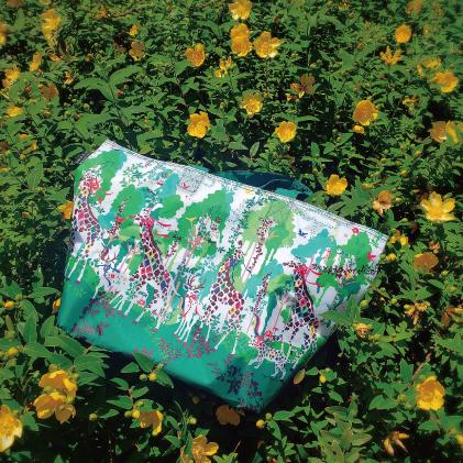ホラグチカヨ kayohoraguchi イラスト エコバッグ 保冷温バッグ ショッピングバッグ