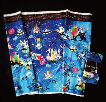 ホラグチカヨ kayohoraguchi イラスト ハンドメイド 生地 fabric