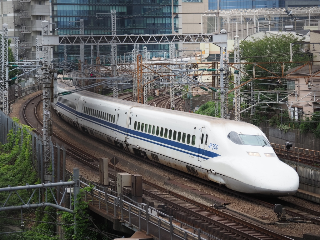 東海道新幹線 撮影地 東京