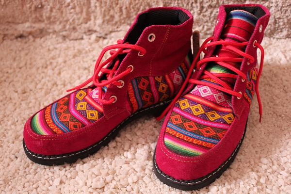 クスコの靴