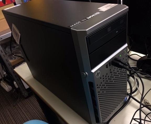 HP社製サーバー導入作業