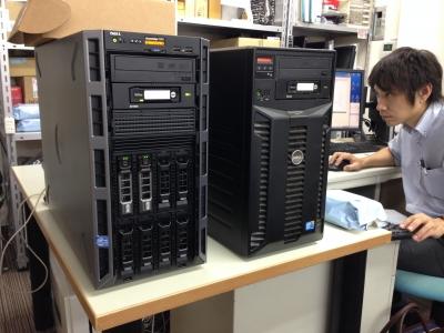 DELL PowerEdge T320タワーサーバー導入