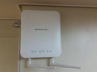 無線LANアクセスポイント工事