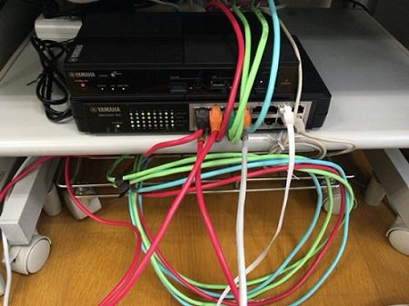 ルーター差し替え時の配線整備