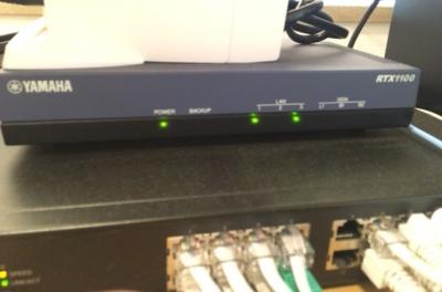 YAMAHA『RTX1100』から『RTX830』への入替作業!