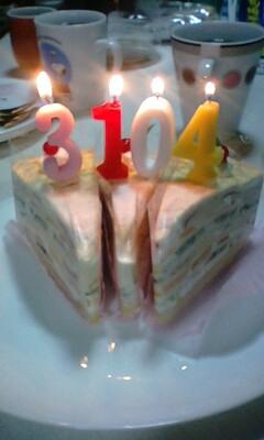 私の誕生日!?