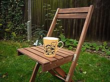 暖かいミルクコーヒーを用意してスタート!