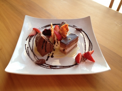 ♥バレンタイン自家製チョコレートケーキ♥