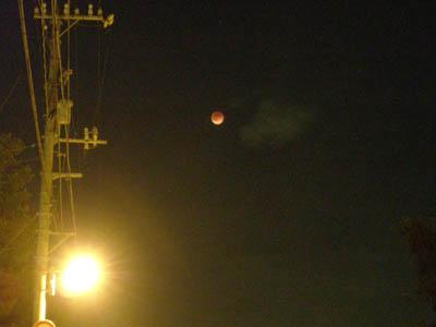皆既月食2007年8月28日