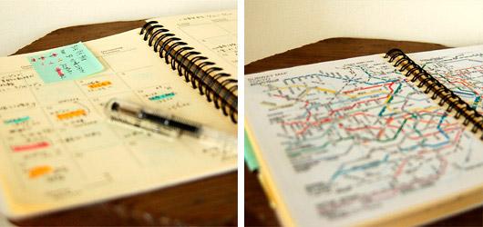 Rollbahnの手帳