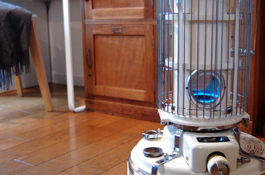Blue Frame Heater