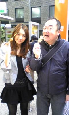 おぎさん歩  にゲストで滝川綾ちゃん