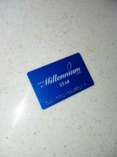 カード ゴールド ミレニアム