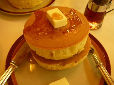 夢みるホットケーキ。