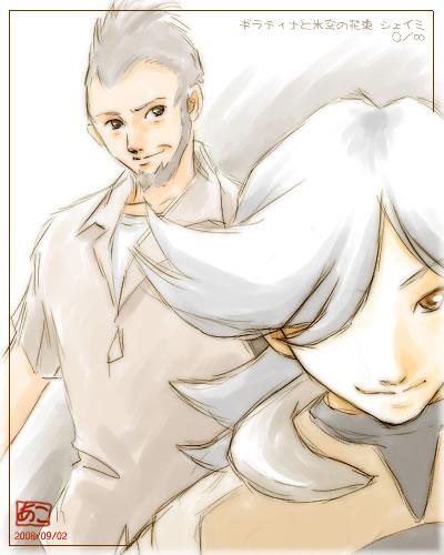 ギラティナと氷空の花束 シェイミ:ムゲン×ゼロ